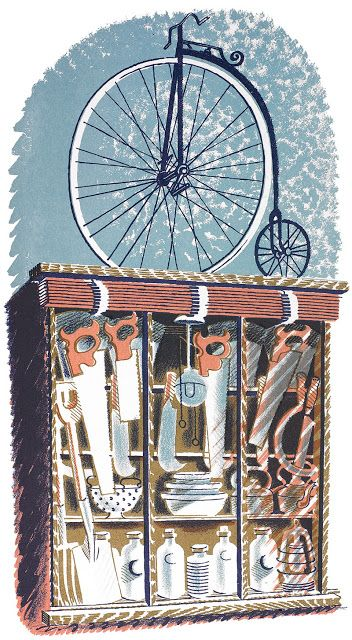 Eric Ravilious: 'Hardware' as published in 'High Street' by J M Richards, London, 1938 (lithograph)