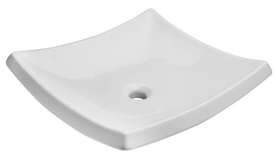 Cuidaelagua lavabo cuadrado trazzo de sobreponer sin for Lugano marfil