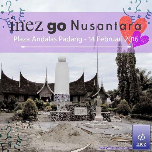 3 Hari Lagi Padang! Sudah siapkan dirimu untuk menampilkan yang terbaik? Inez Go Nusantara Padang akan dilaksanakan 14 Februari 2016 di Plaza Andalas Padang, serta dimeriahkan dengan kehadiran @ilhamfauzie dan @mrezanugrah SMASH. Samarinda siap- siap ya.. Selanjutnya, Samarinda yang menjadi tuan rumah Inez Go Nusantara, lho :)    #inez #inezcosmetics #inezcosmetic #inezkosmetik #beauty #instamakeup #instagram #instapic #instavideo #indonesia #indonesianbrand #localbrand #cosmetic #cosmetics…