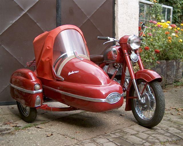 Jawa 250/353 sidecar