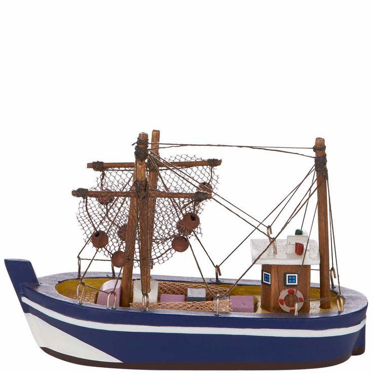 CRAB mini halászhajó