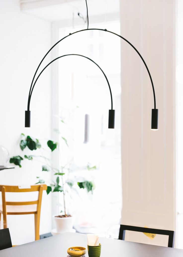 Delicate arches and simple cylinders in a family of lights which can be used singly or