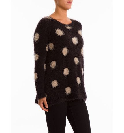 Feather Knit Spot Pullover |  Ping Pong David Jones