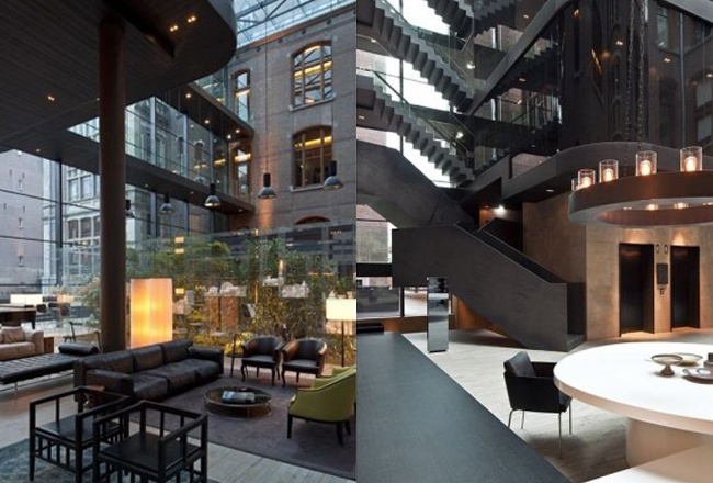 Conservatorium Hotel Amsterdam, Featured on sharedesign.com.