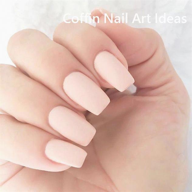 20 trendige Sarg Nail Art Designs #nailideas – Coffin nails