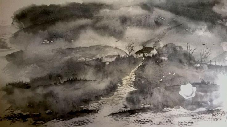 An Old Welsh Mountain ~ hen mynydd Cymreig