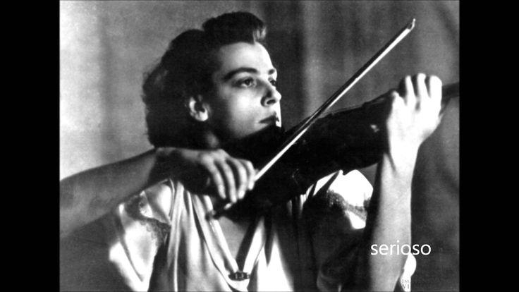 Brahms, Violin Concert Op 77 Ginette Neveu, Violin
