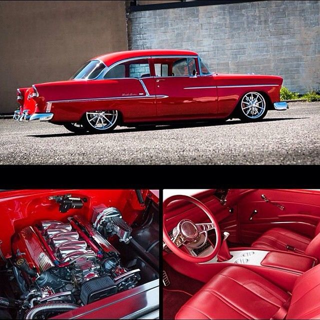 Bad Ass 55 Chevrolet Looking The Business