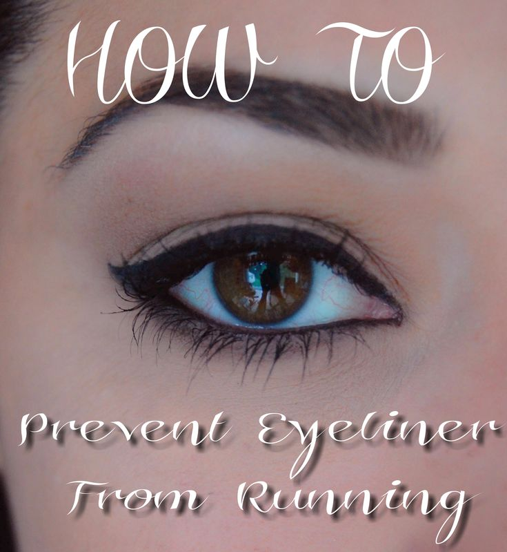 {Made2Style} Preventing Eyeliner From Running! http://made2style.files.wordpress.com/2013/07/prevent-running-eyeliner.jpeg