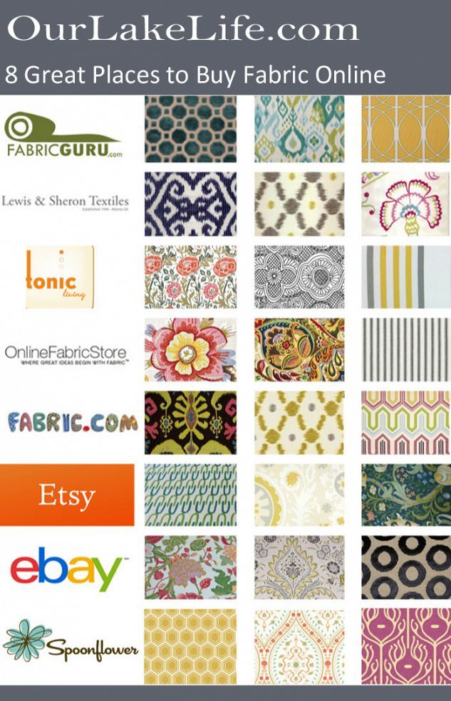 8 Fantastic Places to Buy Fabric Online