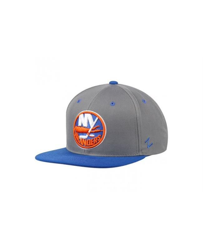 #NewYorkIslanders #Cap #Gray/RoyalZ11NewYorkIslanders #Hat #HipHop #Hat Exhibit your die-hard loyalty when put on this New York Islanders Zephyr Gray/Royal Z11 Snapback Adjustable Hat. This stylish New York Islanders adjustable hat features a flat bill and embroidered New York Islanders graphics on the front that will let everyone know which team you root for.