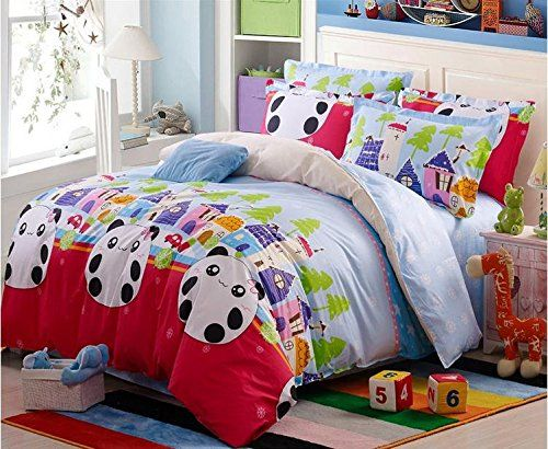 BL Bedding Set, 100% Cotton King Size Bedding Sets, 4PCS with Duvet Cover, Bed Sheet, 2PCS Pillow Case (Comforter Not Included) //Price: $52.52 & FREE Shipping //     #hashtag4
