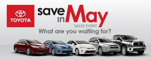 toyota memorial day weekend sale