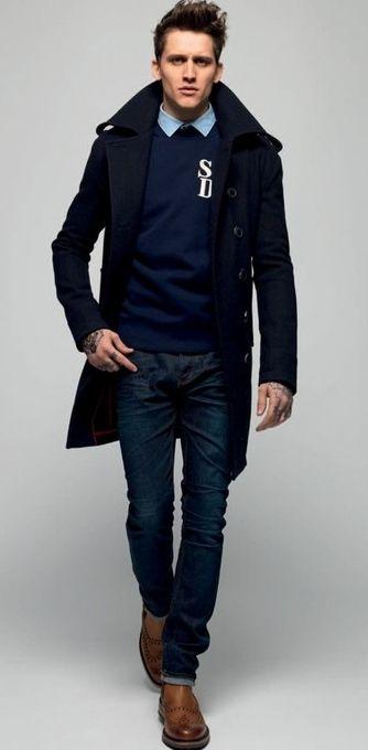 412 best Overcoats images on Pinterest   Burberry trench coat men ...