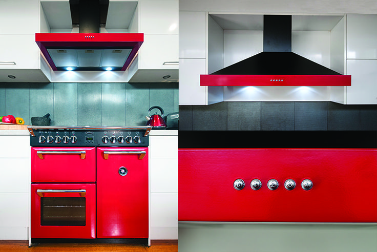Make a striking statement in your kitchen with the coloured kitchen appliances from Belling. The Richmond hoods come in black, cream and red, to match our Richmond range cookers. Add some colour and functionality now!