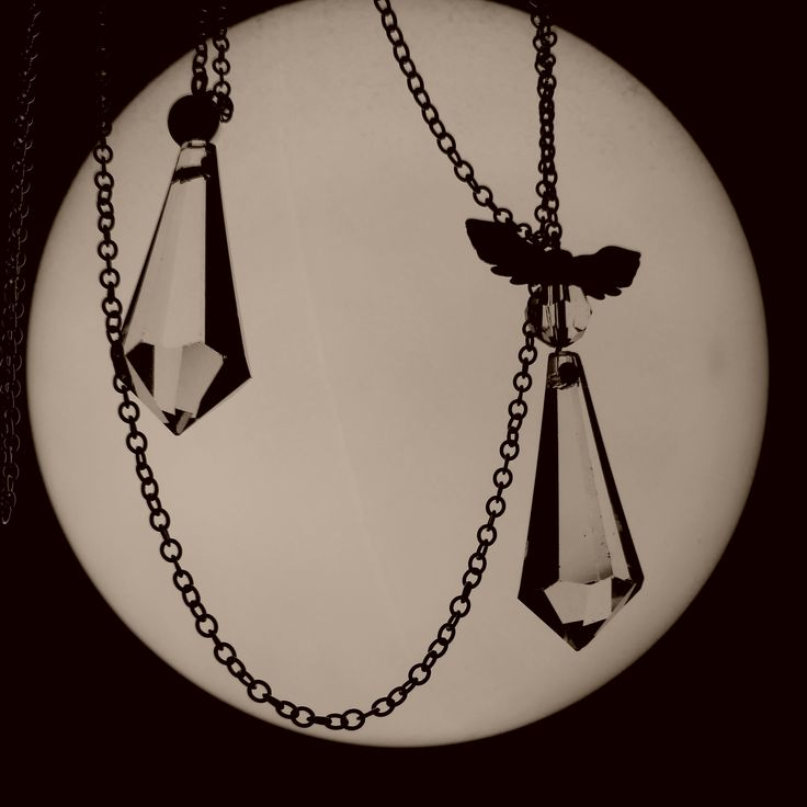 Crystal pendants, jewelry