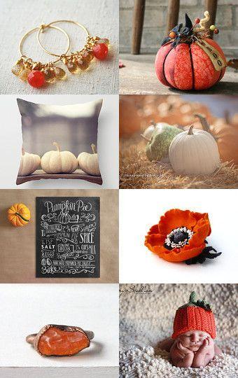 November pumpkin by Marien #Abeillia #Fichate #treasuries #etsy #pumpkin #november