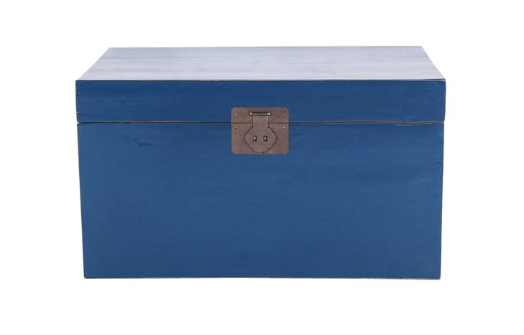 Limited Edition Tanner Vintage Chest -  available in Indigo, Light Cloud, Turquoise.