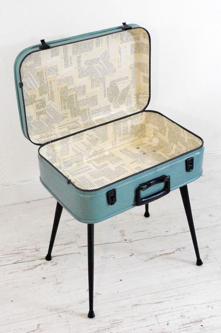 1000 id es sur le th me malle en bois sur pinterest malle rangement malle bois et tables th. Black Bedroom Furniture Sets. Home Design Ideas