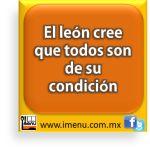 #Dichos y #Refranes El león cree que todos son de su condición
