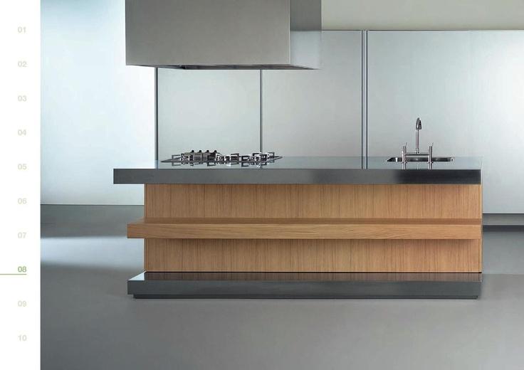 V jednoduchosti je krása. Elegantní a luxusní to jsou italské kuchyně Francesco Molon. Více na: http://www.saloncardinal.com/galerie-abc-cucine-714