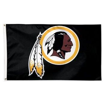 Washington Redskins Black 3x5 NFL Flag