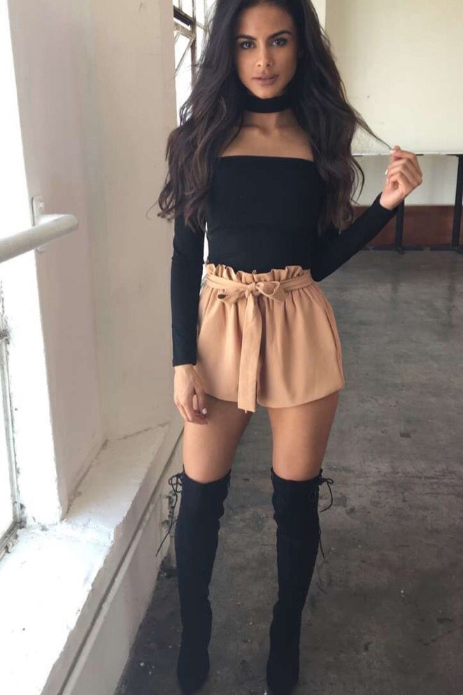 Pinterest Rubyyykins High Knee Boots Outfit Cute Outfits Fashion