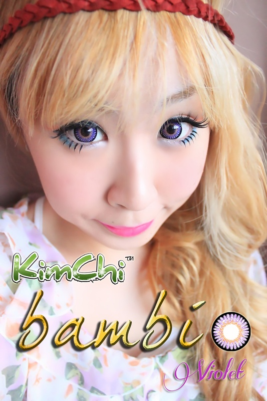Kimchi Bambi in Violet