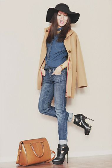 Алия — Шляпа vans, Ботинки Aldo, Пальто somemoment