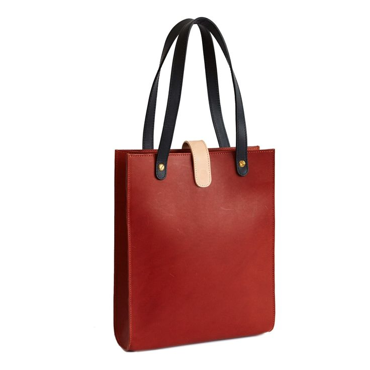 Brandy Leather Tote by TINCT   Gather&See