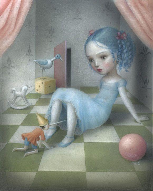 http://www.wicked-halo.com/wp-content/uploads/2010/11/Compagno-di-Giochi-by-Nicoletta-Ceccoli.jpg