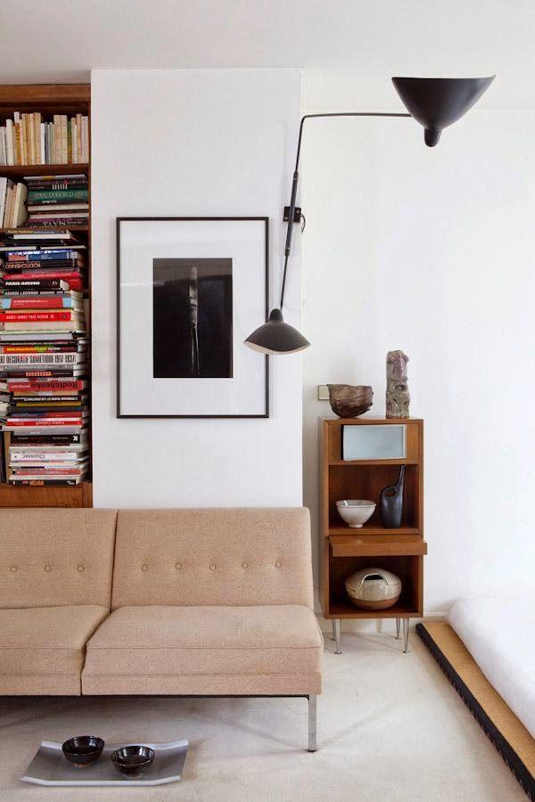 Chez Caroline Wiart , une inspiration Mid Century Modern