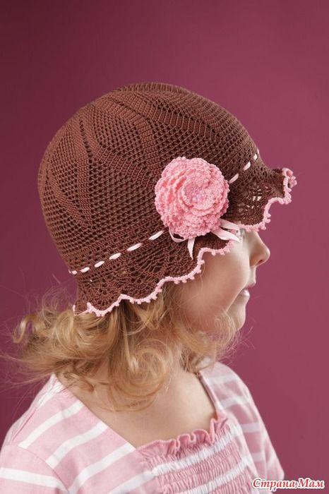 Добрый день девочки!!! Меня зовут Ольга, приятно познакомится Начинаем вязать шапочку крючком на лето