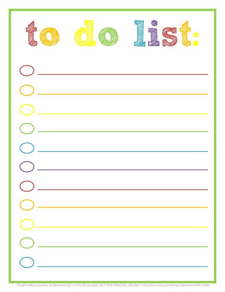 Rainbow To Do List - Courtesy of Clean Mama Printables.pdf - Google Drive