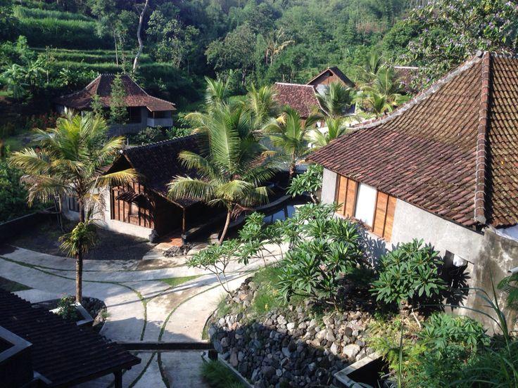 Java teak houses