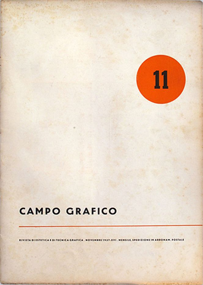Campo Grafico Nº.11 - Unknown, November 1937