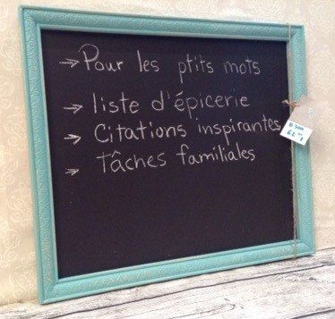 Le chouchou de ma boutique https://www.etsy.com/listing/243839138/eco-friendly-magnetic-and-chalk-board