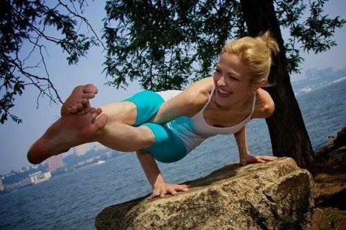 Great Yoga move: Heidi Kristoff, Vegans Meals, Meals Ideas, Shape Magazine, Highprotein Vegans, High Protein, Vegan Meals, Exercise Quotes, Yoga Moving