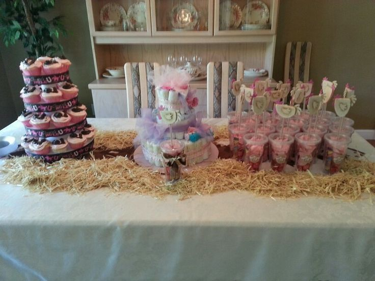 Country Baby Shower Decorations