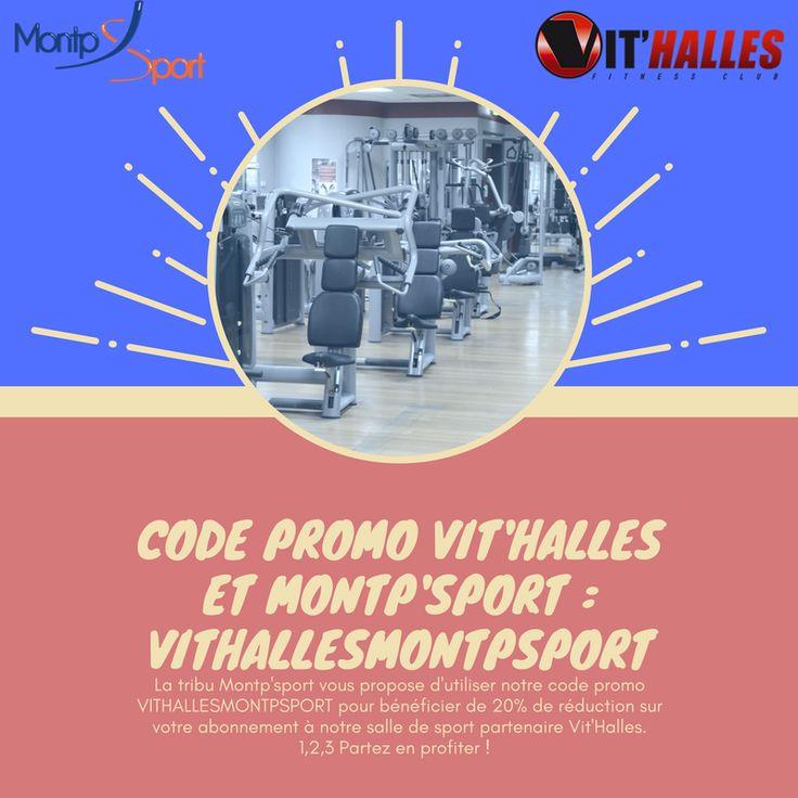 La tribu Montp'sport vous propose d'utiliser notre code promo VITHALLESMONTPSPORT pour bénéficier de 20% de réduction sur votre abonnement à notre salle de sport partenaire Vit'Halles, 1,2,3 Partez en profiter ! : http://www.montp-sport.fr/listing/vit-halles-montpellier/