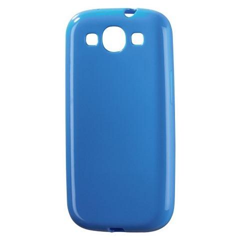Hama Mobiele Telefoon Cover »COVER PEEL SAM.GALAXY SIII BLAUW« - Uitsparingen voor volledige bereikbaarheid van de aansluitingen en bedieningselementen. Technische specificaties:. Materiaal: Kunststof. Design/Motief: Geen Design/Motief. Kleur: Blauw. Voor Mobiele Telefoon Merk: Voor Samsung