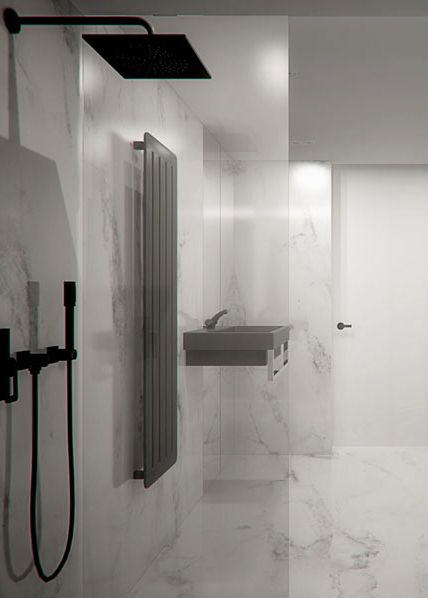 Bathroom design in Tarnowskie Góry POLAND - archi group. Łazienka w domu jednorodzinnym.
