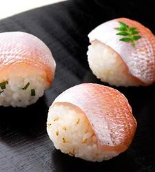 #Sushi 小鯛の手まり寿司