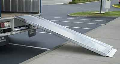 Portable Loading Ramp for Trucks  http://www.portable-wheelchair-ramps.com/portable-ramps/traverse-loading-ramps.aspx