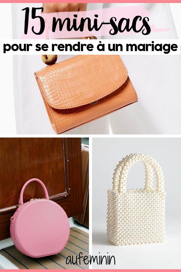 Invitée à un mariage : 15 petits sacs pour sublimer votre