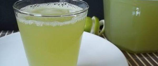 Foto - Receita de Suco de limão,gengibre e capim cidreira