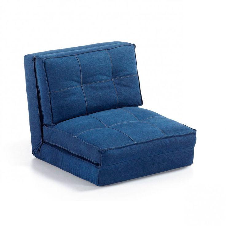 LaForma Slaapstoel 'Zip', jeans-blauw