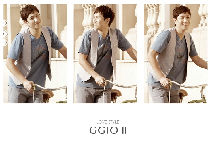 LOVE STYLE GGIO2  2012 S/S COLLECTION    Model Sun-gyun. LEE