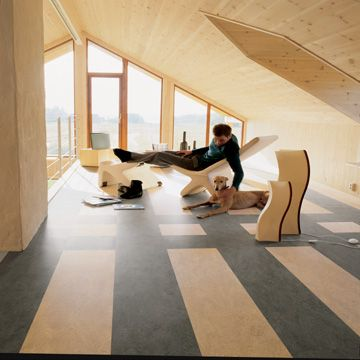 25 best images about marmoleum flooring in a home office for Floor sheet for office