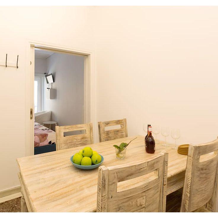 Downtown Exarcheia Apartment, Athens, Greece, BetterHome's portofolio apartment. http://bit.ly/DowntownExarcheiaApartment #diaxeirshakinhton #welcomemore #solutions #advice #airbnb #BetterHomeEU